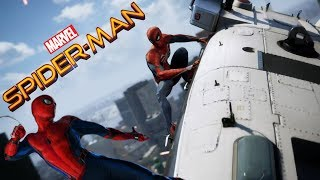 """Spider-Man PS4 with Homecoming """"Extended"""" Theme Song"""