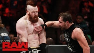 Dean Ambrose vs. Sheamus: Raw, Aug. 28, 2017