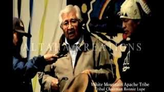 Apache Song by: Tribal Chairman Ronnie Lupe ~ WMAT