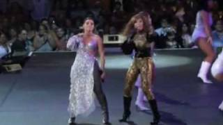 Olga Tañon & Gloria Trevi - Lo que te toca - Evolution Tour
