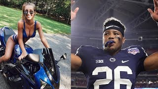 Saquon Barkley's Baby Momma UNDER FIRE for DELETING Old Tweets Using N Word!