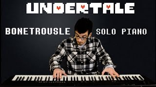 Undertale - Bonetrousle (Piano Cover)