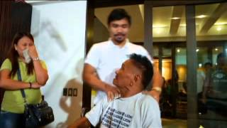 Wish Ko Lang: Pacman's surprise to a former boxer Junie