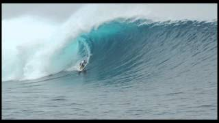 Ramon Navarro at Cloudbreak - Ride of the Year Entry - Billabong XXL Big Wave Awards 2013