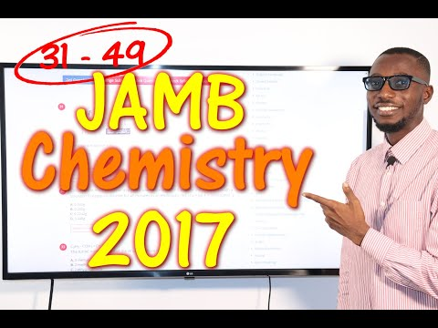 JAMB CBT Chemistry 2017 Past Questions 31 - 49