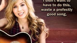 Jennette McCurdy - Break Your Heart (Lyrics On Screen)