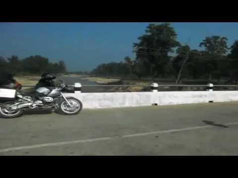 India and Nepal part 3 from 3 Holland to Nepal on BMW R1200GS motorbike wide