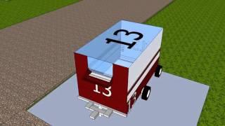Sistema de recoleccion de basura WonLand-0200-01