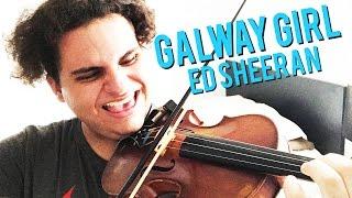Galway Girl - Ed Sheeran (Violin Cover) | Brandon Woods