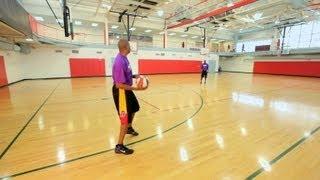 How to Do a Baseball Pass   Basketball