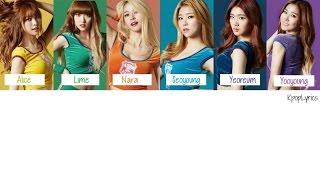 Hello Venus - Wiggle Wiggle [English/Romanization/Hangul] Picture + Color Coded HD