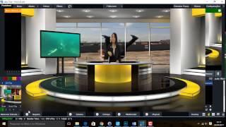 vMix - Cenários virtuais