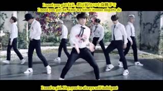 [ENG-ROM-KANJI] BTS - I Need U Japanese Version