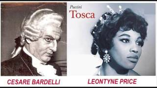 "CESARE BARDELLI, LEONTYNE PRICE, GIUSEPPE GISMONDO - Tosca LIVE 1962 - ""Tradirmi... Tosca Divina.."""