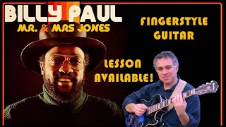 Me and Mrs. Jones, Billy Paul, Michael Buble, Guitar Cover, Jake Reichbart, lesson available