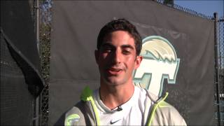 Get To Know... Etham Frenkel, Tulane Men's Tennis