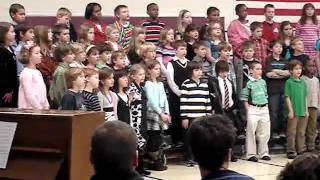 3rd grade musical - Child of the World (Reprise)