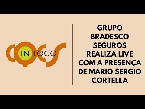 Imagem post: Grupo Bradesco Seguros realiza live com a presença de Mario Sergio Cortella
