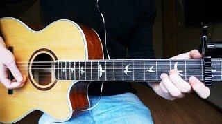 Coldplay - Hymn For The Weekend - Guitar Cover   Mattias Krantz