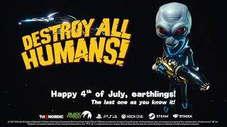 Destroy All Humans! Dependence Day Trailer