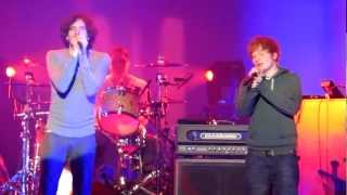 "Snow Patrol & Ed Sheeran - ""New York"" (Minneapolis 04.25.12)"