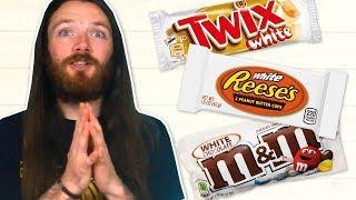 Irish People Try American White Chocolate
