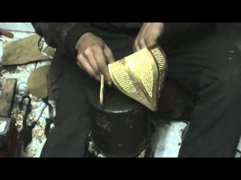 Lamp maker in Marrakech Morocco