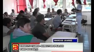 ERNESTO FABRO, DORECTOR IPEA 209, PARO DOCENTE NEW