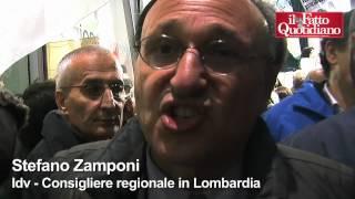 """Sit-in anti Formigoni. """"Siamo 4 gatti"""""""