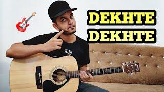 Dekhte Dekhte Guitar Cover With Tabs & Chords   Atif Aslam   instrumental   FuZaiL Xiddiqui