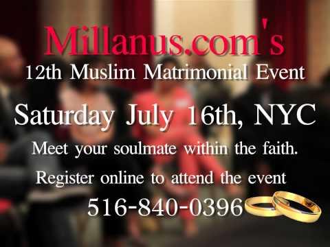 Meet Your Muslim Soulmate! MillanUS.com's 12th Live Matrimonial Event NYC