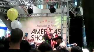 Sam Alves no Américas Shopping-Esse Mistério-(Acústico)