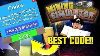 NEW CODES + NEW UPDATES   Mining Simulator
