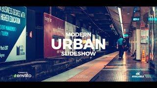 After Effects Template: Modern Urban Slideshow