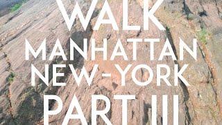 WALK || MANHATTAN,NEW YORK,USA || 4K  PART III (Central Park)