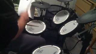 Jeff Masters - Buckcherry Lit Up DRUM COVER on Roland TD9