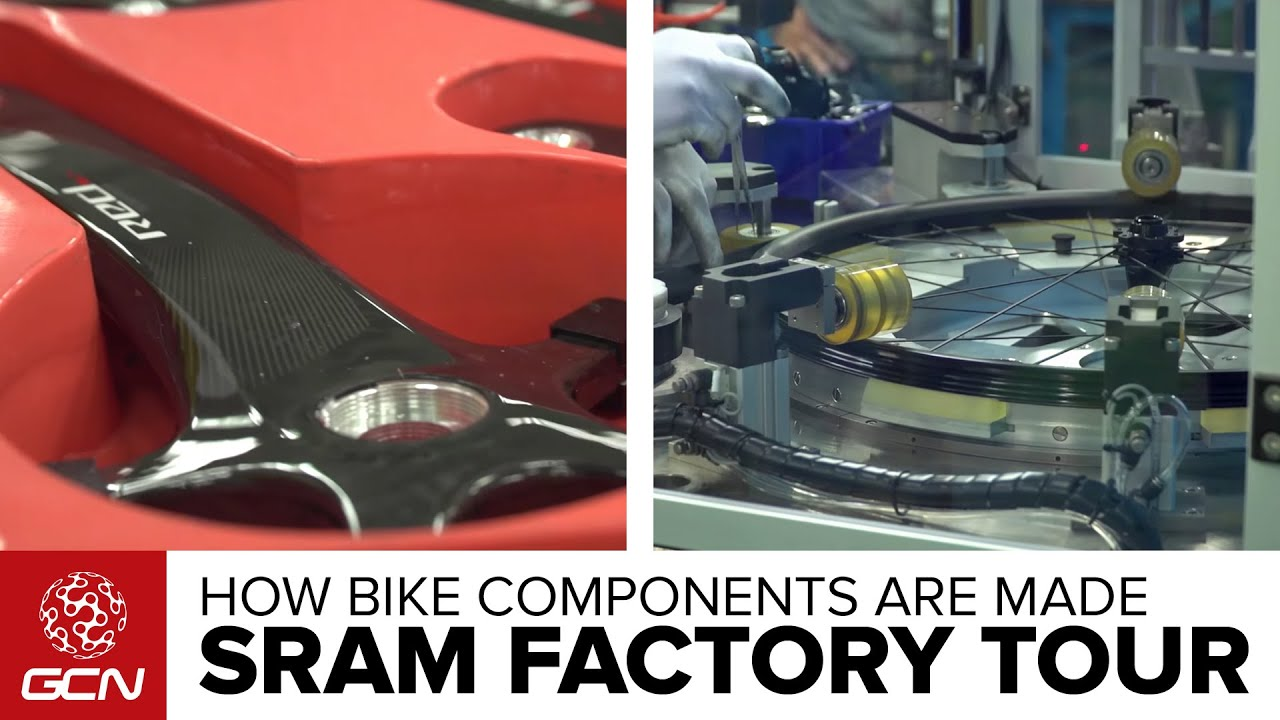 Where Bike Components Are Made – Inside SRAM's Taiwan Factory
