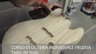 Costruire Basso Elettrico | Costruzione Basso Elettrico | Video liuteria