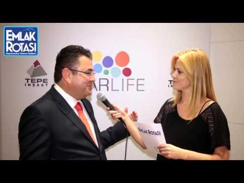 Tepe İnşaat Genel Müdürü Atila Kemal Oğuz ile Narlife Projesi röportajı - Emlak Rotası