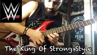 "Shinsuke Nakamura ""The Rising Sun"" WWE NXT theme guitar cover"