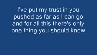 In the end (Linkin park) Lyrics