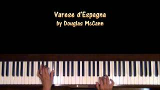 Varese d'Espagna by Douglas McCann Piano Tutorial at Tempo