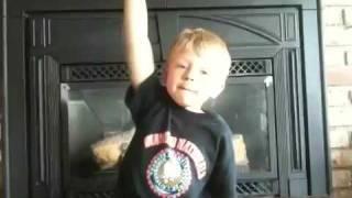 Little kid singing Beat On The Brat