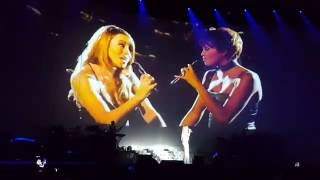 Mariah Carey and Whitney Houston Live at Cracow. When you believe.