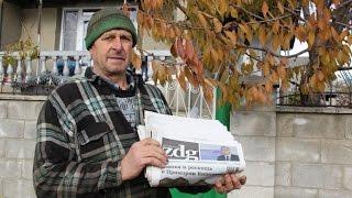 Ziarul de Gardă vine la tine-n sat / Mihai Ciobanu, pensionar, s.Pelivan