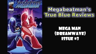 Mega Man #3 (Dreamwave) - A Comic Review by Megabeatman