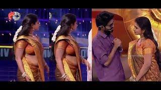 Serial actress hot navel video Vijay tv Serail actress width=