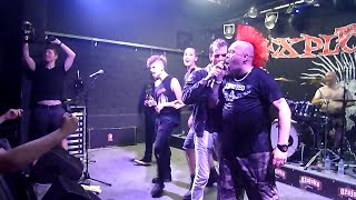 THE EXPLOITED - Fuck the USA - Live @ Zagreb - 13.07.2015