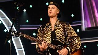 Justin Bieber Awkward Dancing During 2016 Grammys Performance