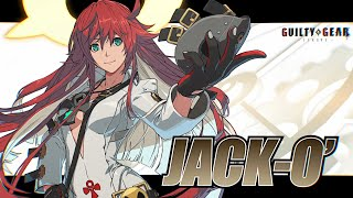 Guilty Gear: Strive DLC Character Jack-O\' Announced